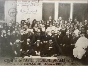 Comité d'Asile de jour israélite en 1921