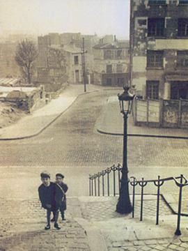 La crèche en 1944