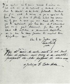 10 Juillet 1901